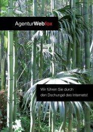 Wir führen Sie durch den Dschungel des Internets! - Webfox