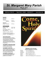 May 27, 2012 - Saint Margaret Mary Parish