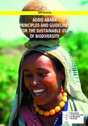 Addis Ababa Principles and Guidelines for the Sustainable Use - Cites