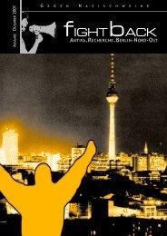 Fight Back 01 - APAP – Antifaschistisches Pressearchiv Potsdam