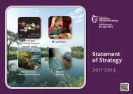 Statement of Strategy 2011-2014 - Department of Agriculture