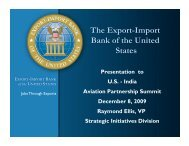 The Export-Import Bank of the United States