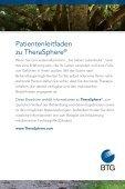 Patientenleitfaden zu TheraSphere® - Seite 3