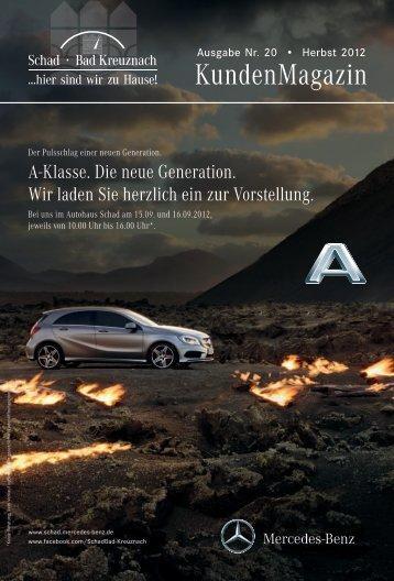 Schad KundenMagazin 2/2012