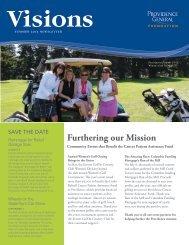 Visions Newsletter Summer 2013 - Providence Washington