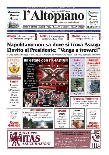 27 giugno 2009.pdf - Il Giornale dell'Altopiano