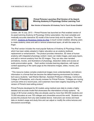 Unlimited Ebook Study Guide for The Anatomy and Physiology Learning ...