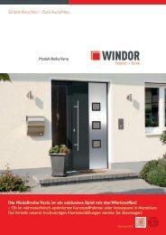 Vario Prospekt - Windor - Fensterwerke