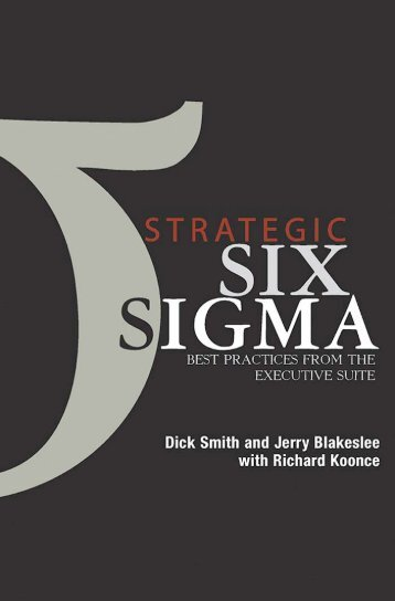 strategic six sigma best practices from the executive ... - vietnamwcm