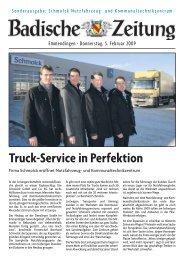 Truck-Service in Perfektion - Schmolck