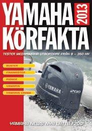 Körfakta 2013 - Yamaha Motor Europe