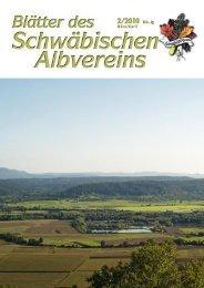 Blättern des Schwäbischen Albvereins - Schwaben-Kultur
