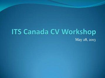Presentation: Susan Spencer, Transport Canada - (ITS) Canada