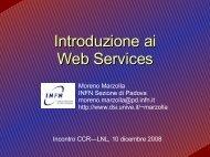 Introduzione ai Web Services - Moreno Marzolla