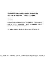 (EMR1) ELISA Kit - MyBioSource