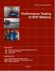 Performance Testing of SHP Stations - AHEC