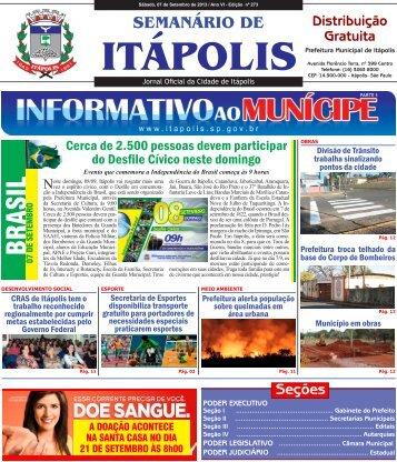 BRASIL - Prefeitura Municipal de Itápolis - Governo do Estado de ...