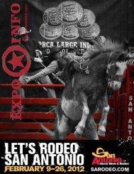Final spring summer 2011sa rodeo expo info - San Antonio Stock ...
