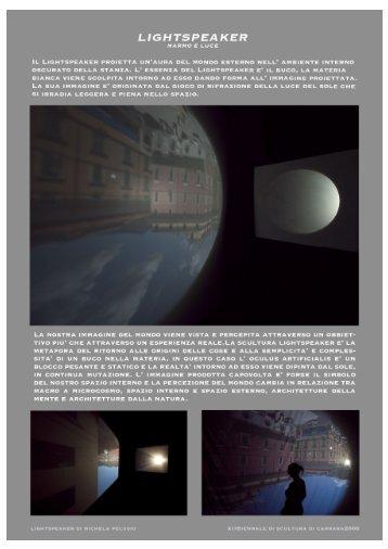 LIGHTSPEAKER - Pelusio, Michela
