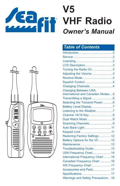 V5 VHF Radio - West Marine