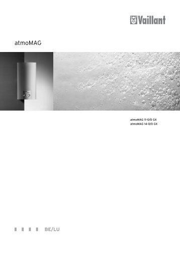 Installation atmoMAG GX (0.86 MB) - Vaillant