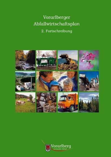 Vorarlberger Abfallwirtschaftsplan