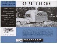 22 FT. FALCON - Airstream
