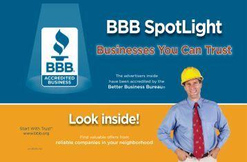 BBB SpotLight - Better Business Bureau