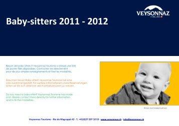 Baby-sitters 2011 - 2012 - Veysonnaz
