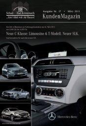Schad KundenMagazin 1/2011