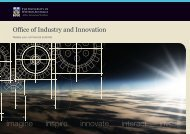 OII Brochure - Realise your commerical potential - Office of Industry ...