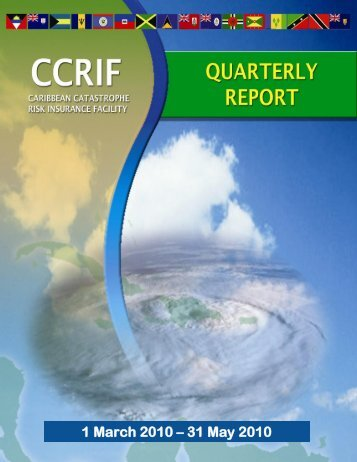 QUARTERLY PRGRESS REPORT - The Caribbean Catastrophe ...