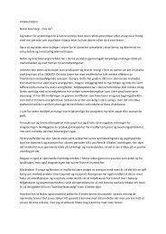 Artikkel Nobio Norsk bioenergi – hva nå? Jeg takker for anledningen ...