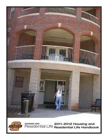 Policies Handbook - OSU Residential Life - Oklahoma State University