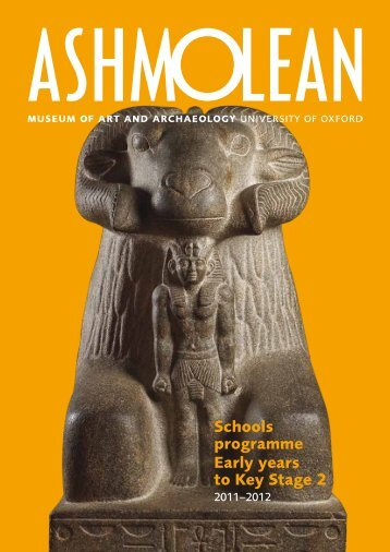 2011–2012 - The Ashmolean Museum