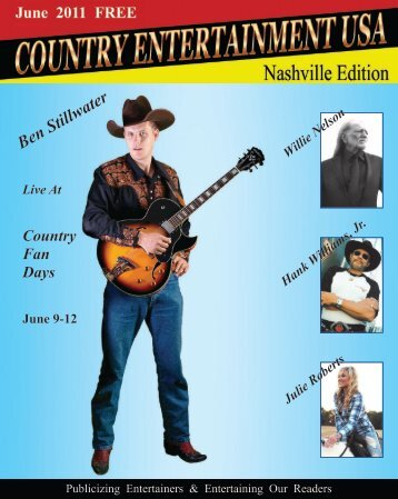 2011 June Issue - Country Entertainment USA