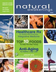 January 2010 - Natural Awakenings