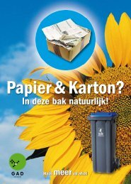 Papier & Karton? - Stichtingen Papier Recycling Nederland