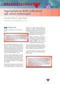Appropriatezza delle indicazioni agli esami endoscopici - Page 5