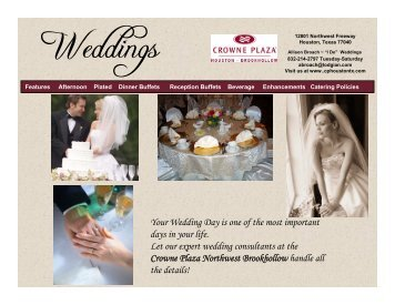 Your Wedding Day is one of the most important days in your life. Let ...
