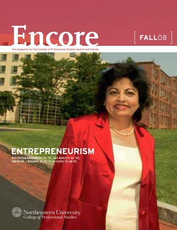 entrepreneurism - Northeastern University College of Professional ...