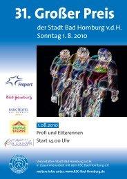 31. Großer Preis - RSC Bad Homburg 1979 eV