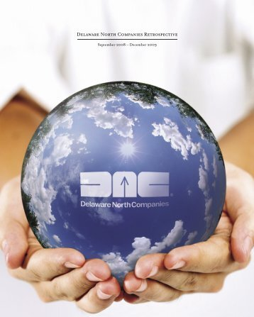 Delaware North Companies Retrospective 2008 - 2009