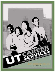 Interview Preparation - Career Services