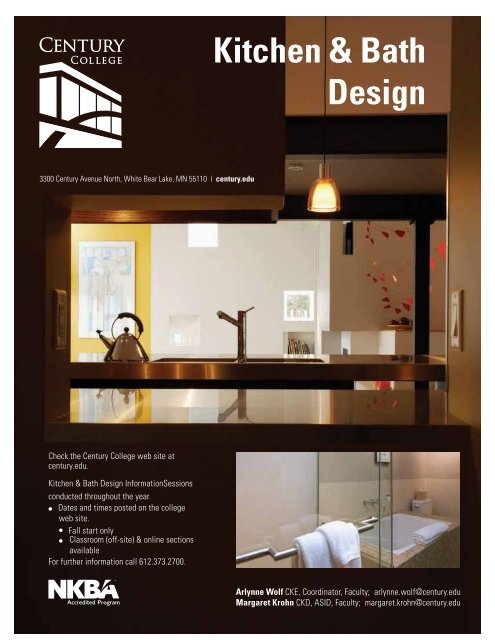 Kitchen Bath Design Century College