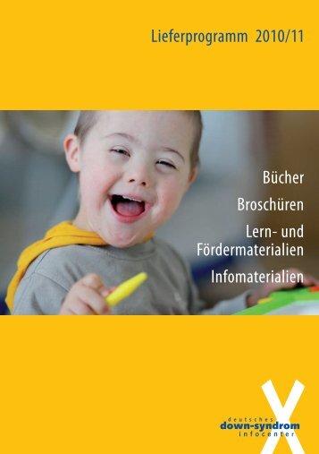 NEU - Deutsches Down-Syndrom InfoCenter