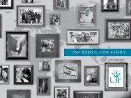 one world. one family. - Jewish Federation of San Diego County