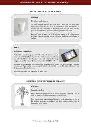 bekijk voorbeelden van functionele lees-en schrijfoprdrachten(pdf)