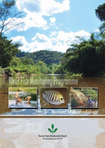 River Fish Monitoring Programme: Manual of Methodology.