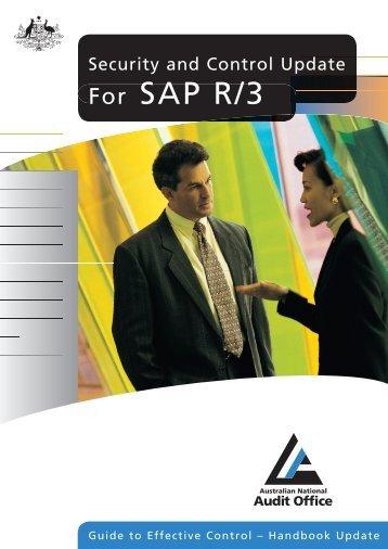 7518 ANA SAP TXT_A.indd - The Australian National Audit Office